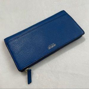Kate Spade Saturday Cobalt Blue Bi-fold Wallet